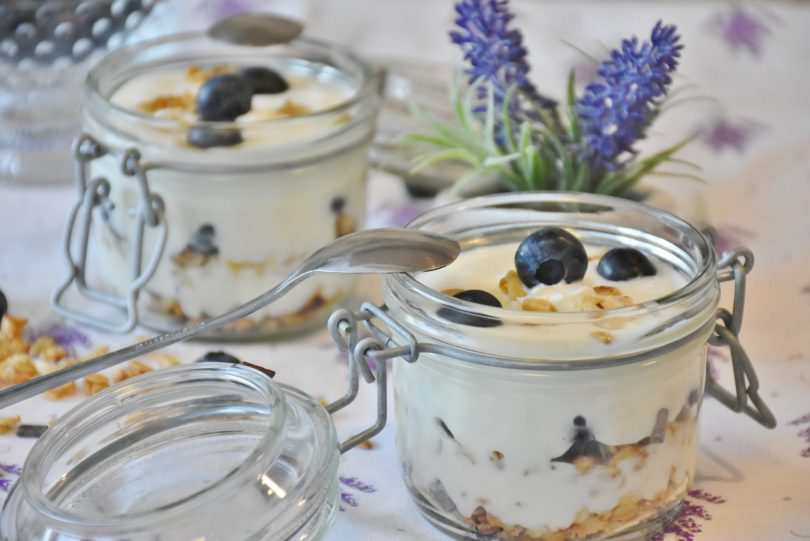 Fruit and Youghurt Jars - TheRecipe.Website