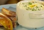 Smoked haddock with eggs en cocotte