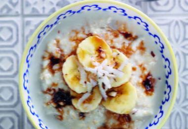 Coconut & Banana Porridge - TheRecipe.Website