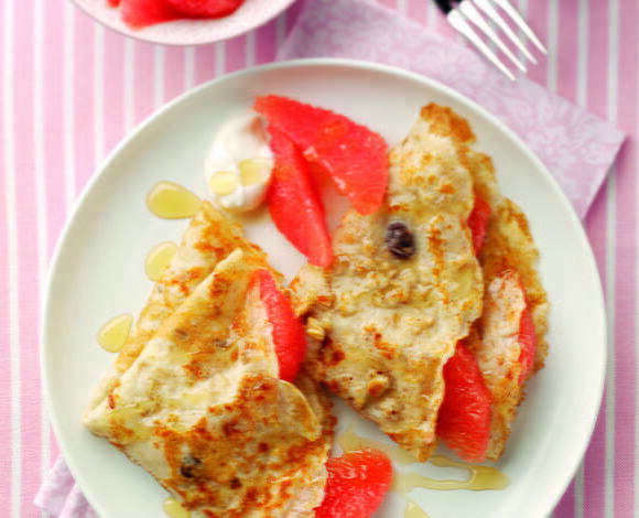 Granola Pancakes - TheRecipe.Website