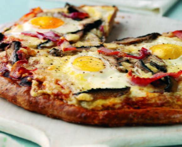 Breakfast Topped Bread - TheRecipe.Website