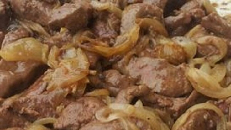 Calves' Liver Venetian Style - Fegato alla Veneziana