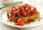 Devilled Tomatoes on Granary Toast