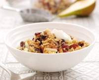Pear & Cinnamon Bircher Muesli - TheRecipe.Website
