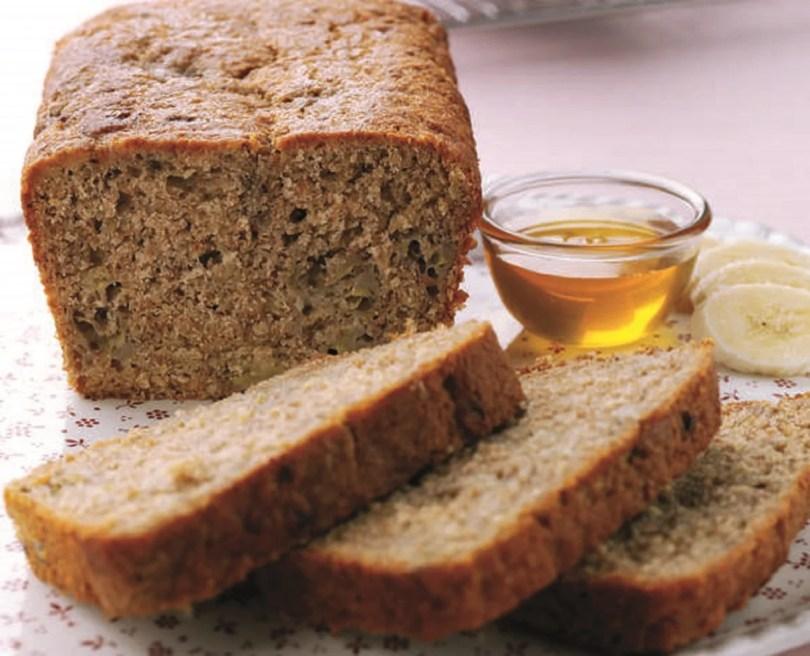 Banana and Honey Breakfast Loaf