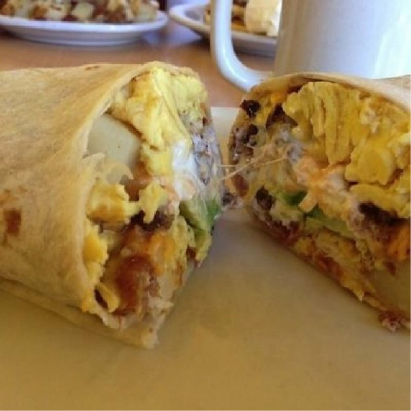 The Only Breakfast Burrito