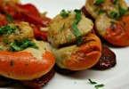 Spicy Scallops and Peppers