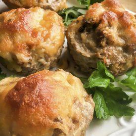 Keto Meatloaf Muffins
