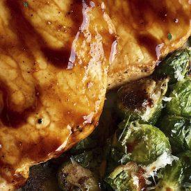 Maple-Balsamic Boneless Pork Chops