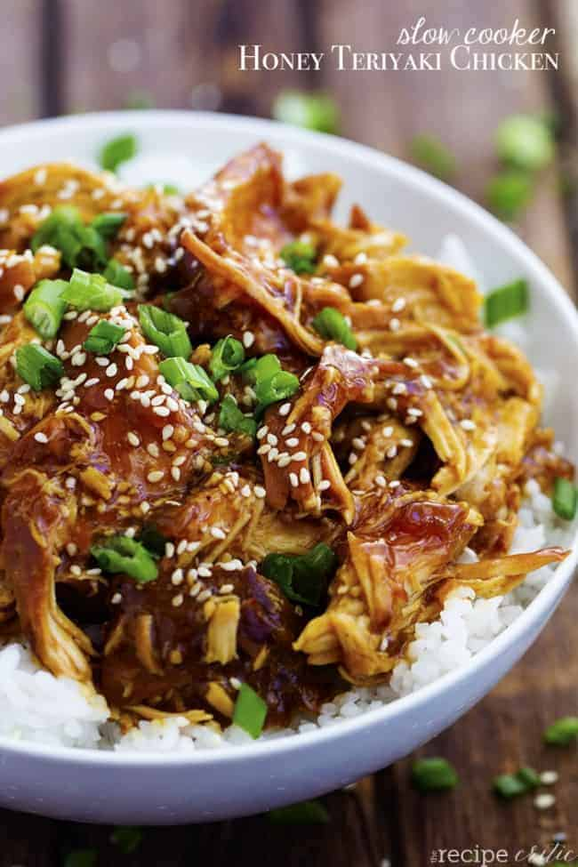 Crock Pot Honey Teriyaki Chicken Recipe | The Recipe Critic