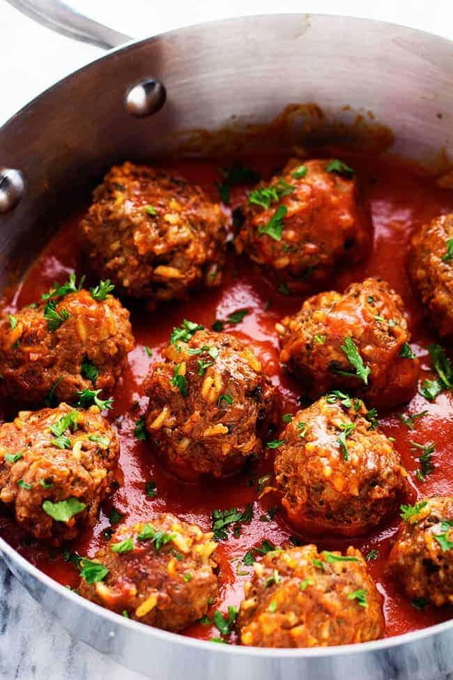 Porcupine Meatballs The Recipe Critic