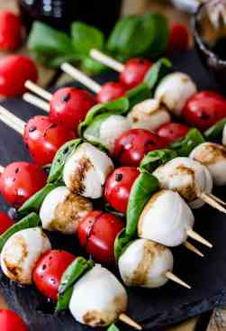 Image result for caprese skewers