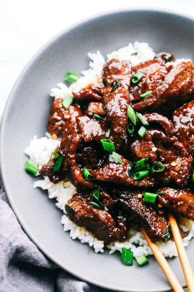 Super Easy Mongolian Beef Tastes Just Like P F Changs