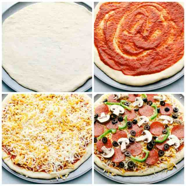The Easiest Homemade Pizza Ever!  The Recipe Critic
