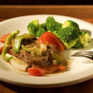Pepper Steak with Easy Pan Gravy