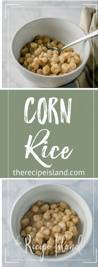 Pin this Corn Rice Recipe to Pinterest!