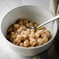 Corn Rice. An authentic Bay Island dessert.