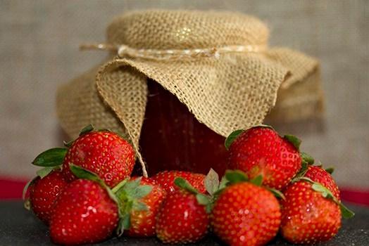 Strawberry Jam – no preservatives.