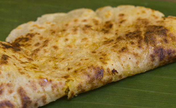 puran poli - cooked to perfection