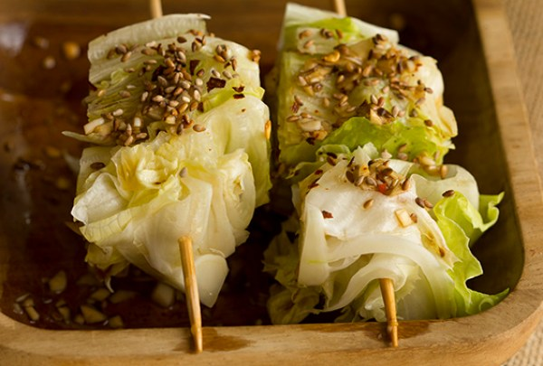 lettuce wedge salad