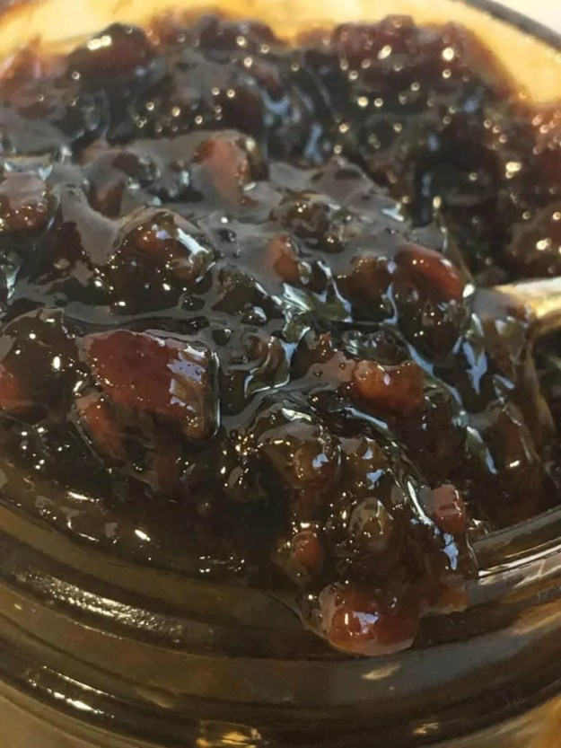 maple bacon bourbon jam