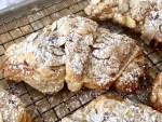 homemade almond croissants