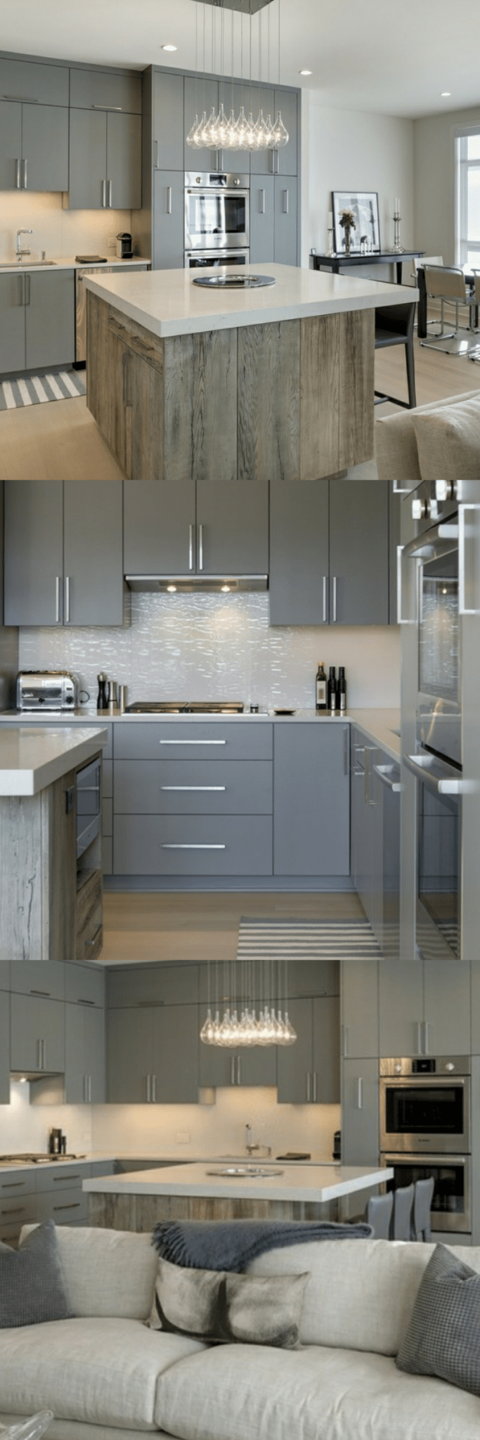 gray cabinets what color walls