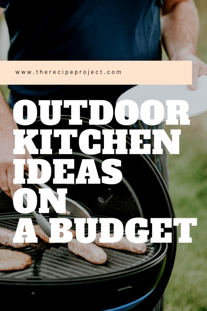 Outdoor Kitchen Ideas On A Budget Affordable Small And Diy Kitchen