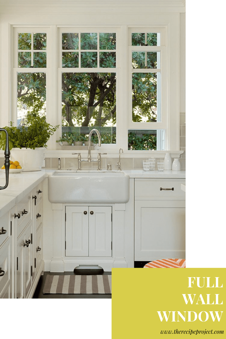 over the sink kitchen window treatments