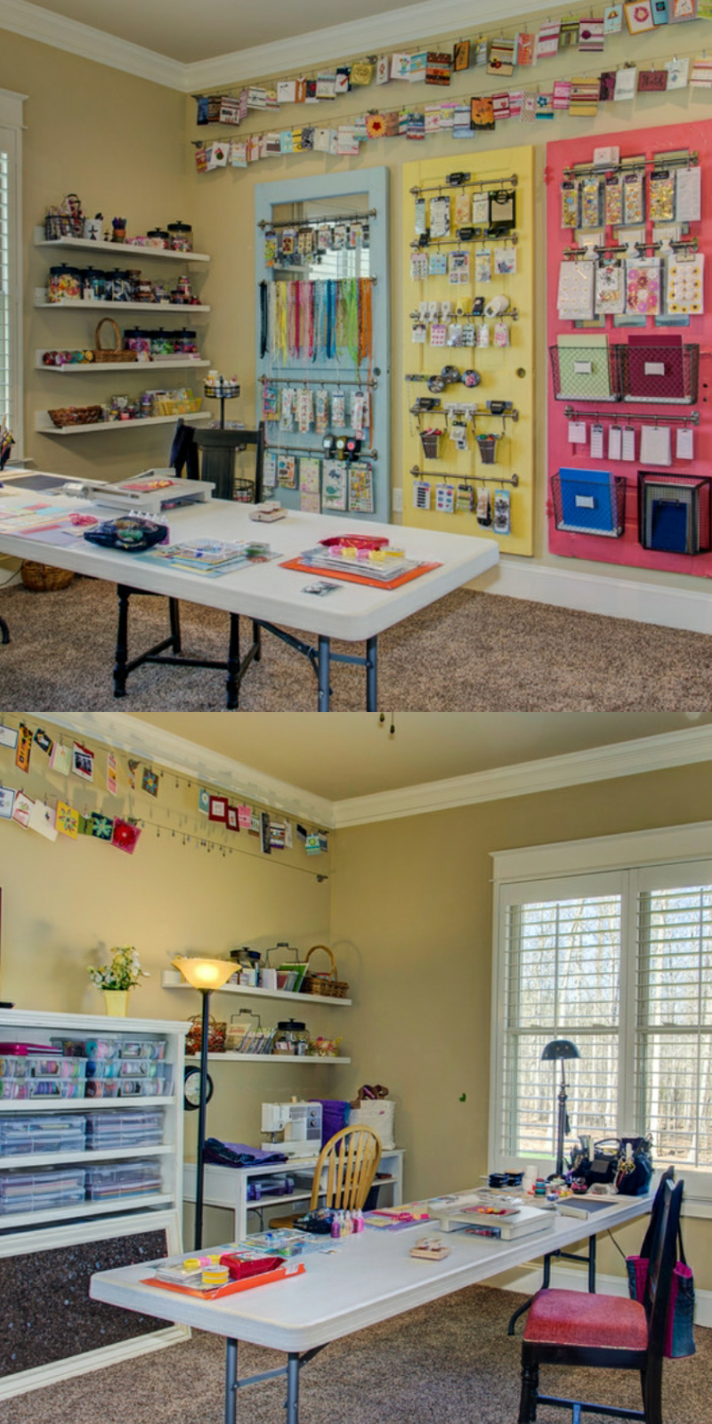 creating a craft room in your home
