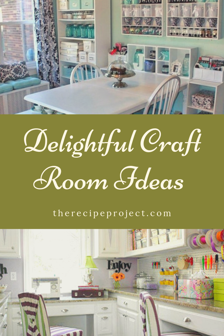 Delightful Craft Room Ideas (Small, Storage, and DIY craft room)