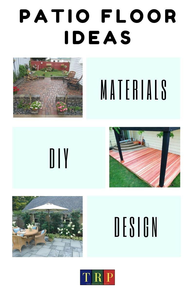Patio Floor Ideas Diy And Outdoor Patio Floor Design