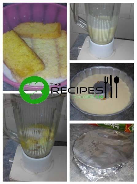 How to Make Cake Rusk Caramel Pudding