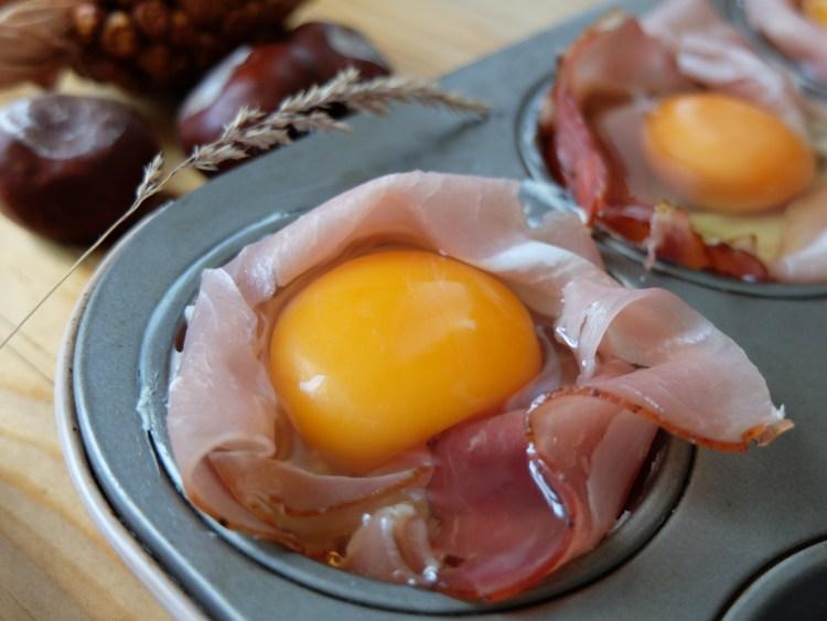 Fruehstuecksmuffin Vorbereitung