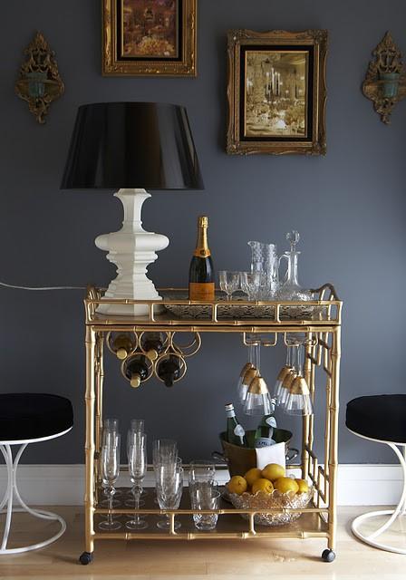 Gatsby Bar Cart