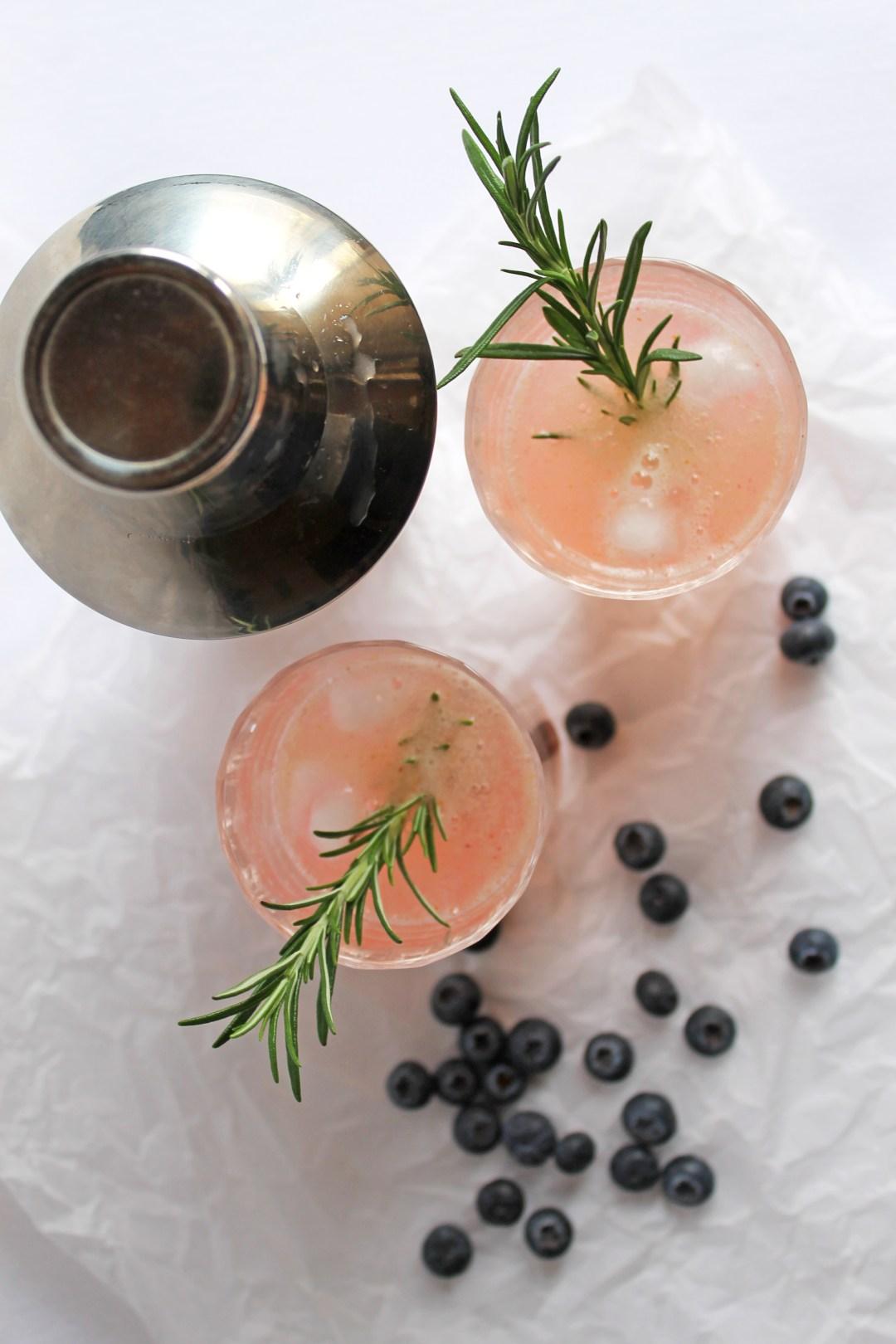Rosemary Blueberry Smash