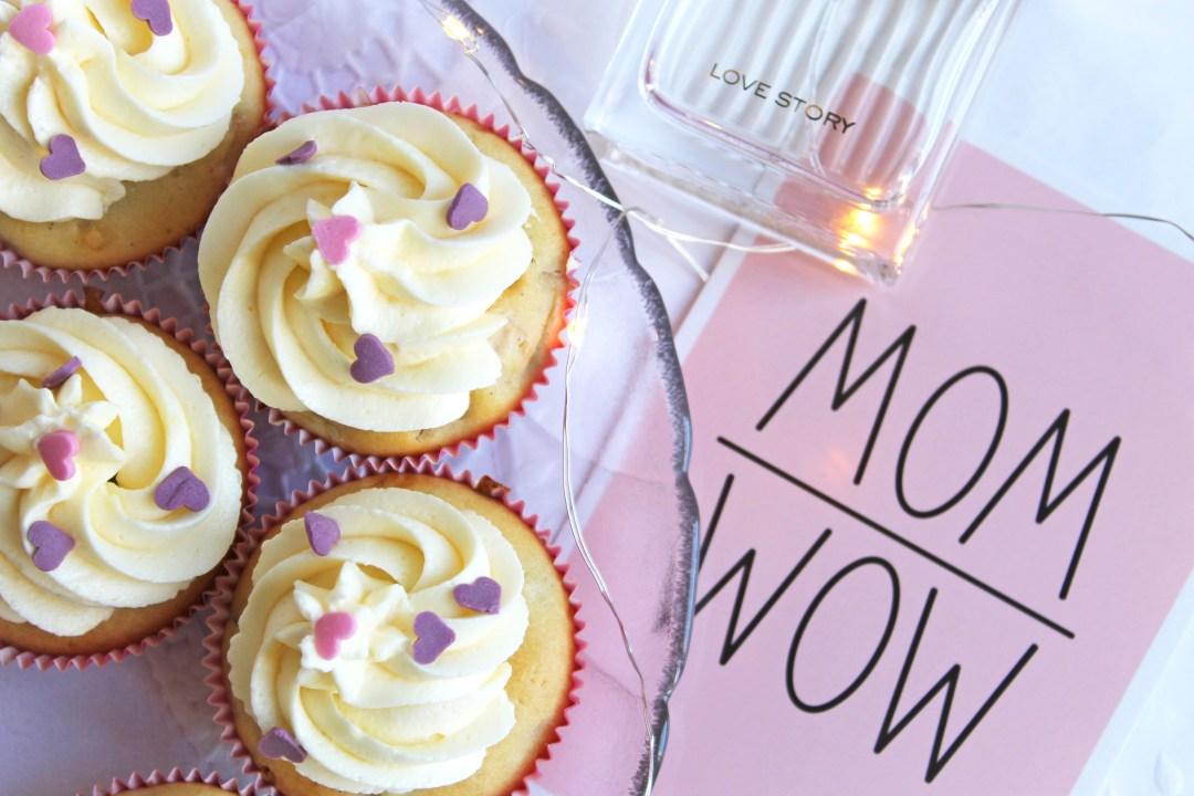 Rhabarber-Cupcakes Mom Wow