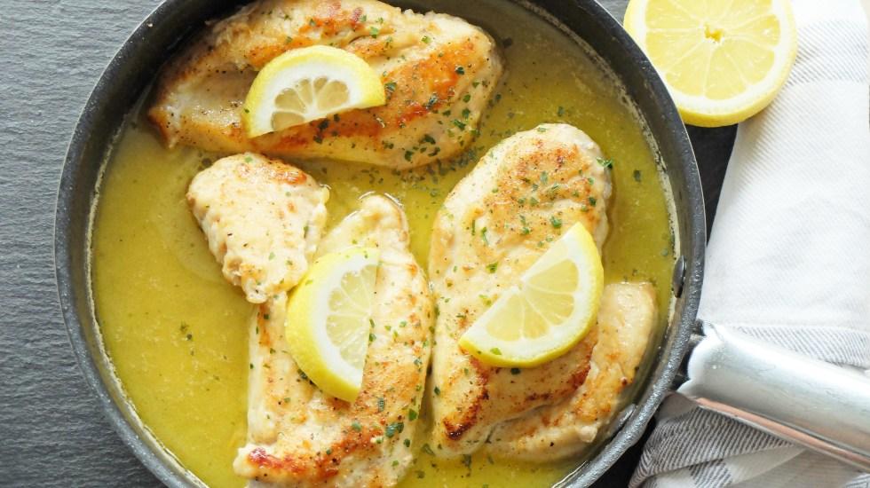 Butter-Zitronen-Huhn