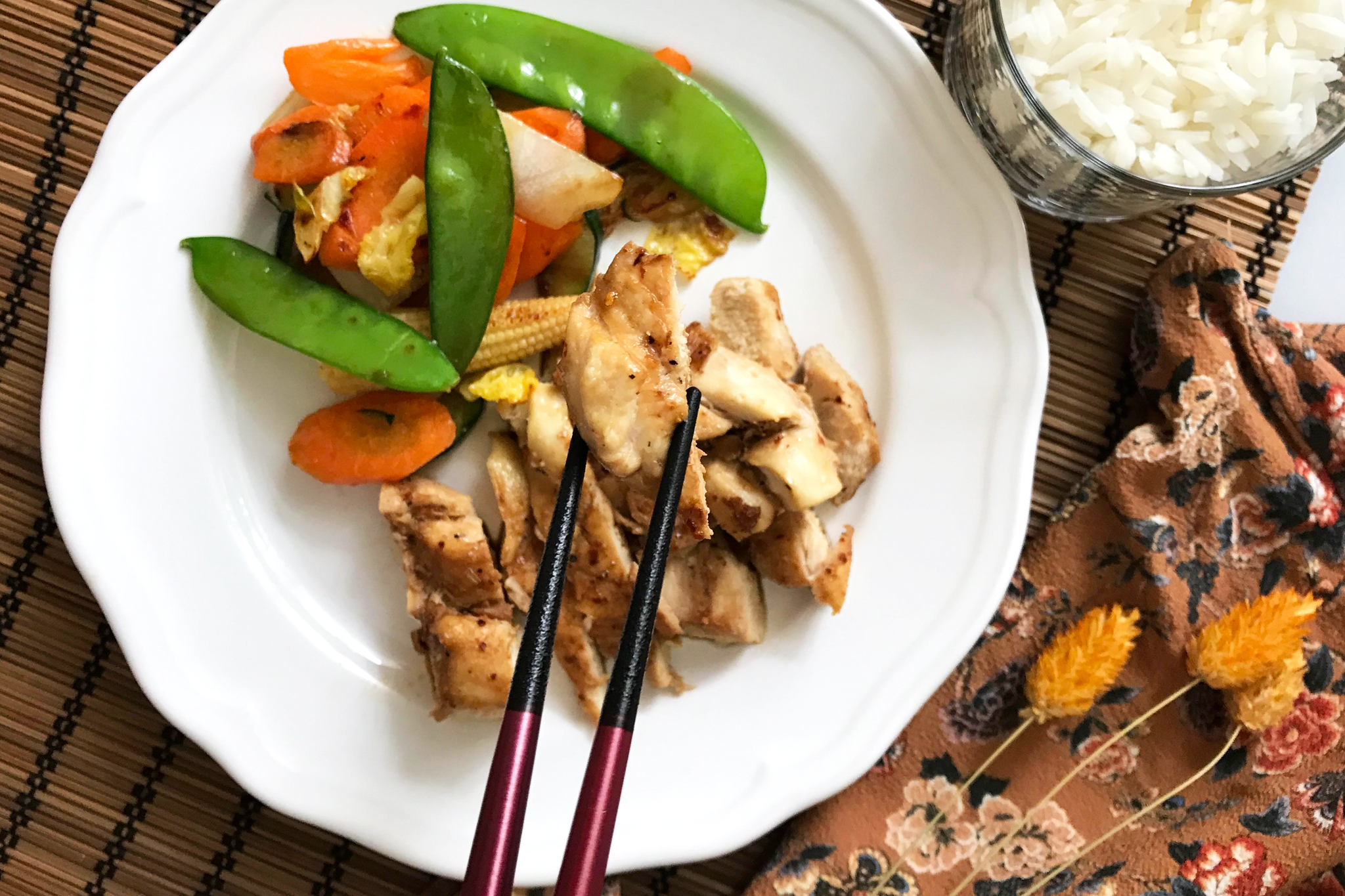 Huhn Asia-Style