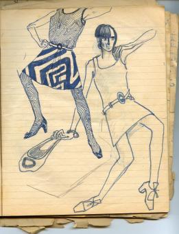 127 SB Op art Fashion