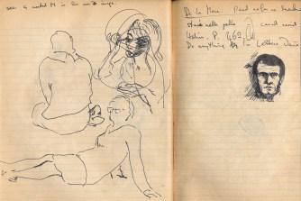 115 SB Studies & a memory sketch ofPaul Scofield H