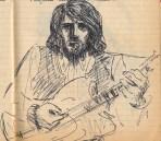 137 SB Hirsute guitarist H