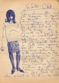 146 SB Girl & Yeats note