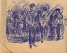 21 SB Sketch of Manfred Mann
