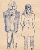 10 SB Couple in coats/recklessfruit1/janeadamsart
