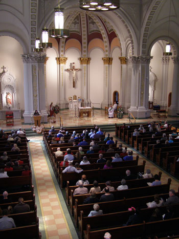 St. Elizabeth of Hungary Church celebrated the 100th anniversary of their dedication with a Mass Nov. 15
