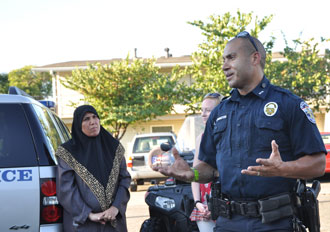 Catholic Charities partners with LMPD for peace walk | The