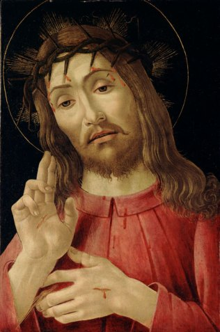 """The """"Risen Christ"""" is depicted in a 15th-century painting by Sandro Botticelli. Easter is April 16 this year. (CNS/Bridgeman Images)"""
