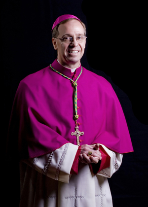Pope Francis has named Bishop Charles C. Thompson of Evansville, Ind., to head the Archdiocese of Indianapolis. Bishop Thompson is pictured in an undated photo. (CNS photo/the Message)