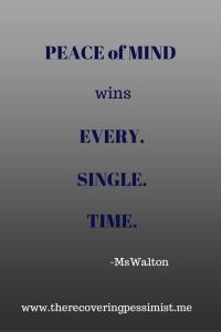Wisdom Wednesday #60 via The Recovering Pessimist